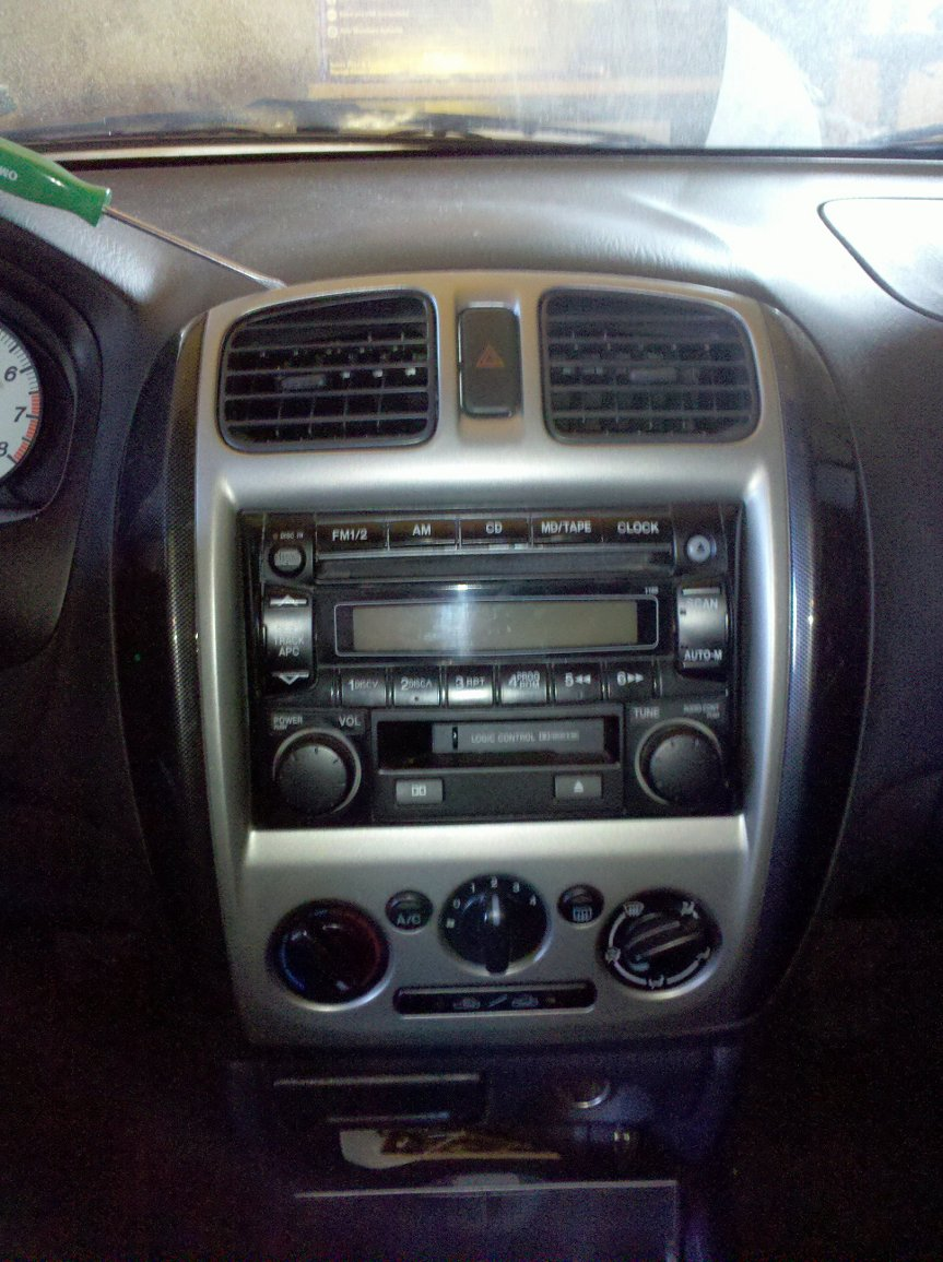 Installing A New Stereo In My 2002 Mazda Protege 5 Car Tape Wiring Diagram