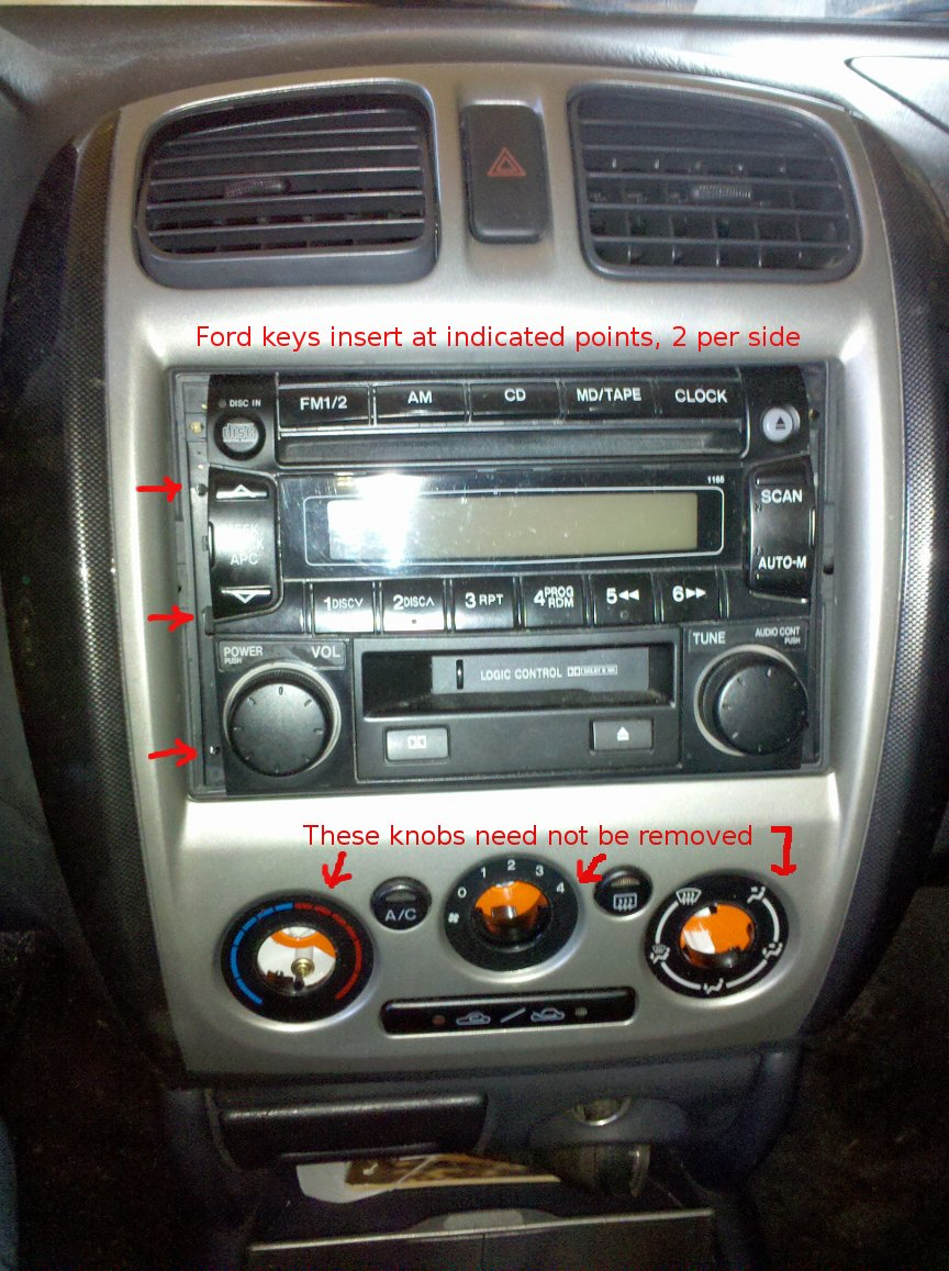Installing A New Stereo In My 2002 Mazda Protege 5 Radio Wiring Diagram And Repeatedly Checking Wikibooks Guide To I Also Took Lots Of Pictures What Was Doing They Should Be Self Explanatory